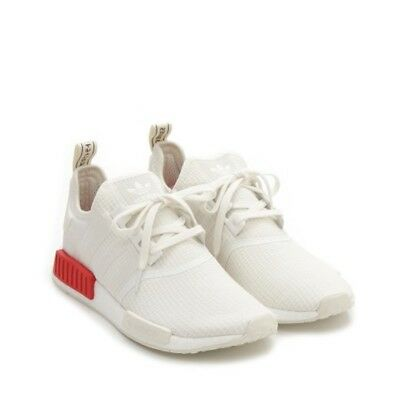 lowest price 3c8f7 26ffa ADIDAS SHOES Adidas NMD R1 B37619 WHITE TOTAL WHITE SNEAKERS ORIGINAL  limited
