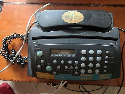 Phillips HFC 22 Phone Fax Copy Answering Machine