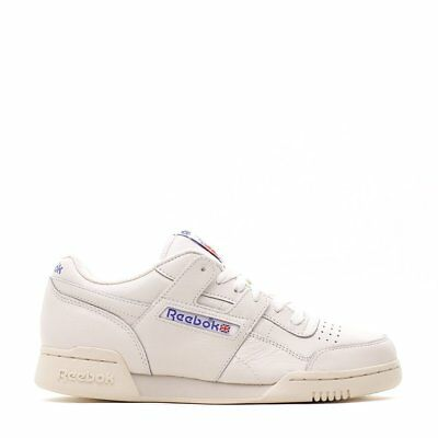 Mens Reebok Workout Plus 1987 TV Chalk White Royal Blue DV6435 779d5df9d