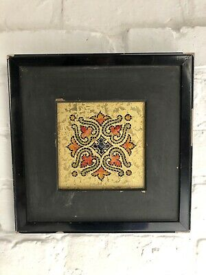 Religious Picture Tile Art Gold Church