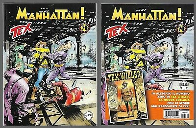 TEX n. 697 - Manhattan! + Allegato TEX WILLER n. 0 - EDICOLA