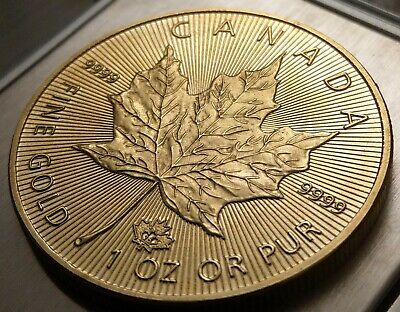 Münze / Medaille 50 Dollar Canada 2015 BU - 1 OZ Gold Maple Leaf 2015
