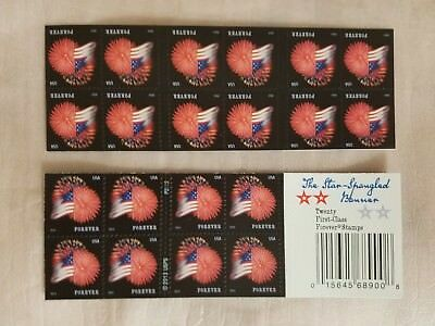 USPS Forever Stamps The Star Spangled Banner Booklet of 20