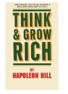 Think and grow rich by Napoleon Hill PDF money finance success book