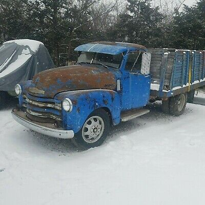 1949 Chevrolet Other Pickups  1949 Chevrolet 3800 1 ton truck project 235 engine Fulton sunvisor clear title!!