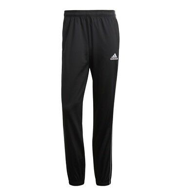 32efede472d5 Adidas Mens Core 18 Football Fit Pants PES Typical Tracksuit Bottom Training