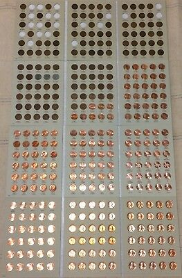 1909-2018 Lincoln Cent Collection PDS Wheat & Memorial Set Good - BU FREE SHIP!!