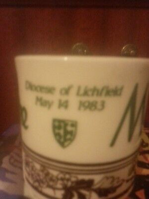 Mayfire Diocese of Lichfield 1983.Commemorative Cup.