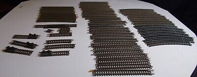 Train N Scale Lot Atlas Nickle Silver Track Good Condition And Clean   .