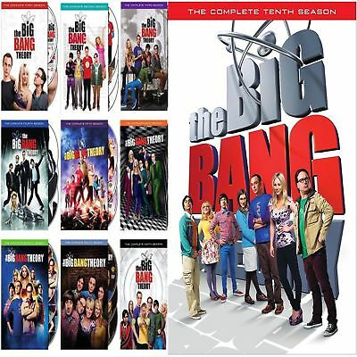 The Big Bang Theory: Complete Series Seasons 1-10 DVD Set BRAND NEW! EXPEDITED!