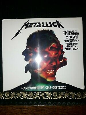 Metallica Hardwired to Self Destruct 2CDs New and sealed