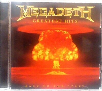 Megadeth - Greatest Hits (Back to the Start) (CD 2005)
