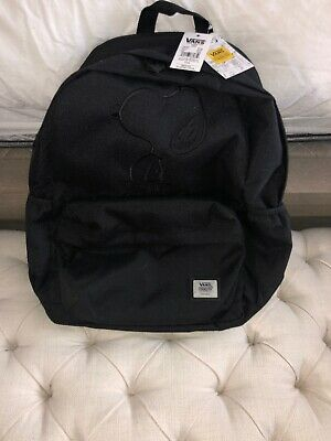 0d7e12be66 Vans X Peanuts TONAL Backpack Embroidery SNOOPY Off The Wall VN0A3D8RBLK X1
