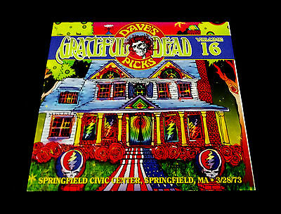 Grateful Dead Dave's Picks 16 Volume Sixteen Springfield MA 3/28/1973 Mass 3 CD