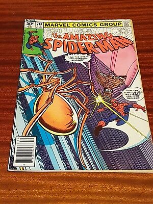 Marvel - Amazing Spiderman #213 Feb 1981 VG