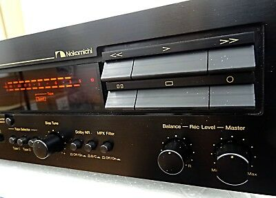 Nakamichi DR-3  2 Heads Cassette Tape Recorder Superb Serviced Condition Clean