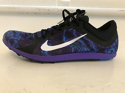 official photos 3a58a 2f34a Nike Victory XC 3 Cross Country à Piques Homme Femme Imprimé Violet Pdsf  Neuf