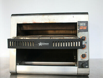 Star Holman QCS-3-950H Conveyor Toaster 950 Slices/hr 14in 208v Convection