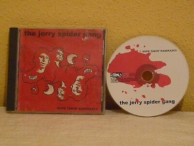 """JERRY SPIDER GANG  """"lote de dos CDS"""""""