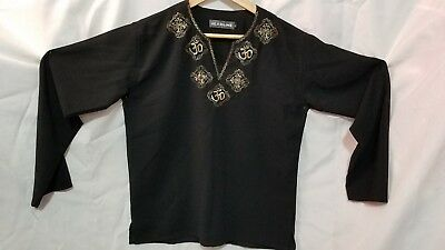 INDIAN / PAKISTANI Black KURTI with embroidery