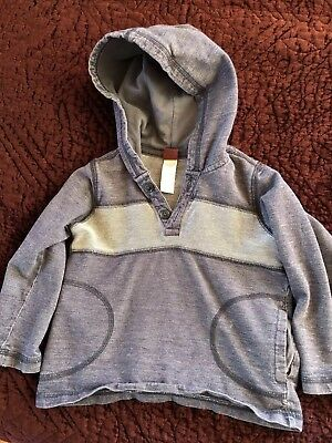 Tea Collection Long Sleve Hoodie 2t Euc