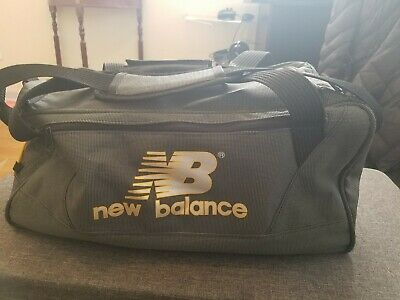 92e80ce4318b Gray New Balance Gym Duffle Bag