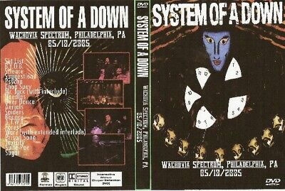 system of the down live in philadelphia dvd 2005 nirvana queen ozzy