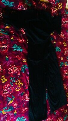 9b659514f079 TED BAKER JUMPSUIT - Size 2 UK10 - Black - Great Condition - Women s ...