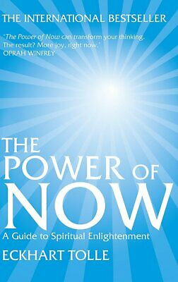 The Power of Now A Guide to Spiritual Enlightenment Paperback Book