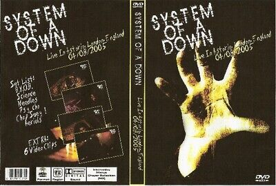 system of the down live in london england dvd 2005 nirvana queen ozzy