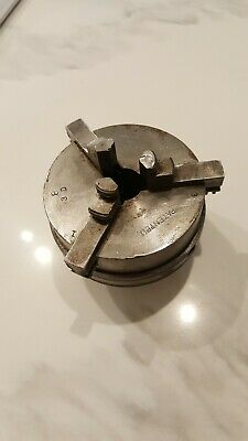 LEAVITT Dexter Valve Reseating MACHINE Lathe 3 jaw chuck