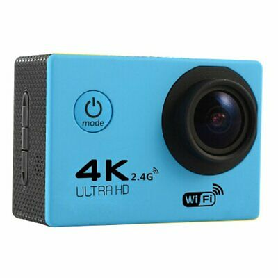 F60R 2.0 Inch 4K 170 Degree Wide Angle WiFi Sport Action Camera Camcorder  NEW