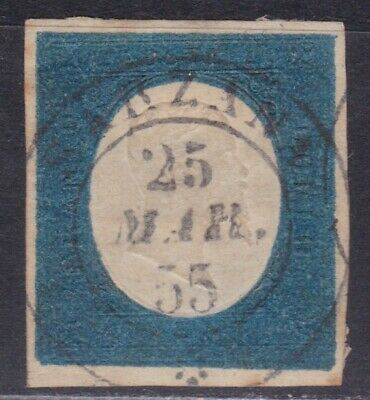 🇮🇹ITALY SARDINIA STATE 1854 STAMP • SCOTT No.8 • USED •