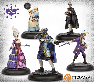 Carnevale miniature game Patricians Starter Gang resin new