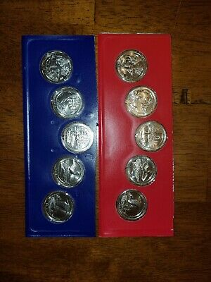 2018 America The Beautiful P & D Uncirculated Set Sealed Mint Cello 10 Coin Lot