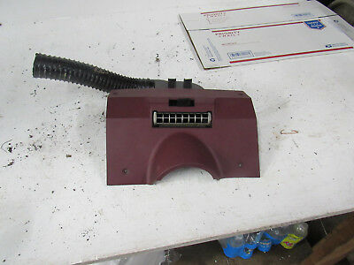 78-88 monte carlo under steering column cover dash filler vent ac