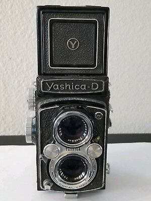 - Yashica D TLR Medium Format Camera 6x6, Yashikor 80mm f3.5   Great user!