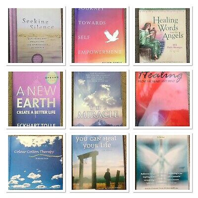 Self Help/ Spiritual Healing Books, Dvds Bulk