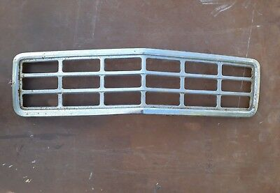 Holden Hq Hj Hx Hz Commercial Chrome Steel Grill Grille One 1 Tonner.