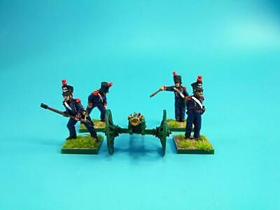 28mm Napoleonic painted French Foot Artillery Fre32