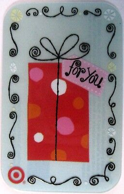 TARGET - FOR YOU GIFT 1176 - Gift Card 2007 NO Value RARE !