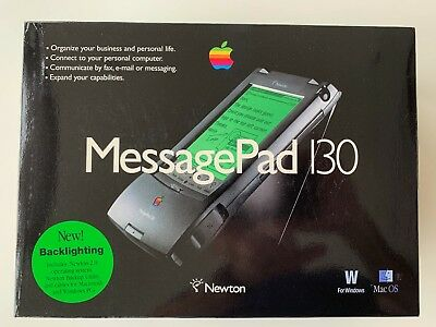 ***new Unopened*** 1995-6 Apple Newton Message Pad 130 Pda - Rare Collectable