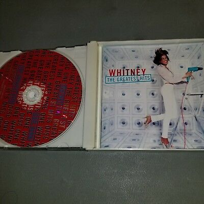 The Greatest Hits [UK] by Whitney Houston (CD, May-2000, 2 Discs, Bmg/Arista)