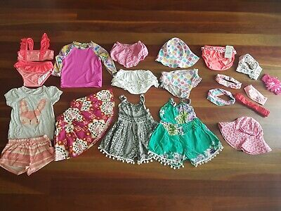 Baby Girls Size 0 & 1  Bulk Clothes - 20 Items