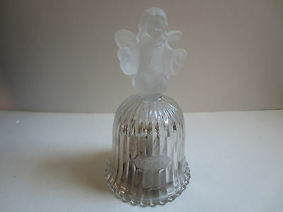 Goebel Annual Angel Crystal Glass Bell 1980- Limited Edition