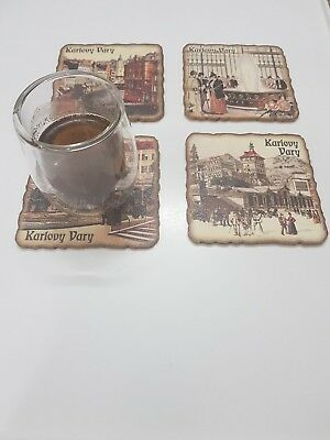 6pcs Wood Drink Coaster Tea Coffee Cup Mat Pads Table Decor Tableware Bar Square