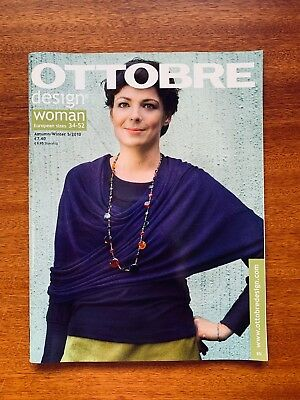 Ottobre Autumn/Winter 5/2010 Sewing Patterns Euro Magazine with 20 full patterns