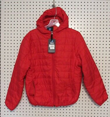 13ac9a79c TOMMY HILFIGER BOYS Red Puffer Jacket Size L Large (14 16) -  39.99 ...
