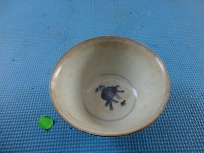 Authentic Chinese Ming dynasty blue and white rice bowl 2, 16th C