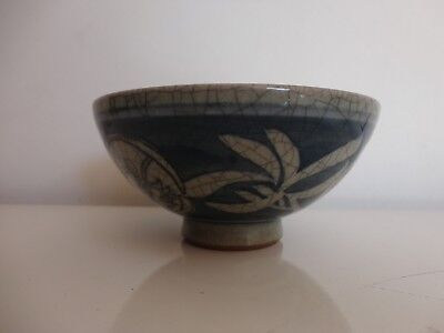 Antique Chinese Qing dynasty rice bowl, 18/19th century